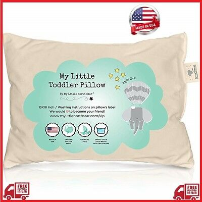 USA Zack & Ali Organic Toddler Pillow