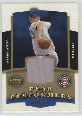 2004 Upper Deck Peak Performers Jerseys Gold/165 #PP-KW Kerry Wood Chicago Cubs