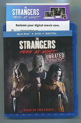 THE STRANGERS PREY AT NIGHT Horror HD Digital Code Only