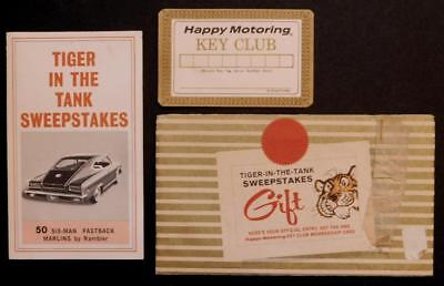 1965 Tiger in the Tank Sweepstakes Humble Oil Refinery (ESSO)Rambler Marlin C31D