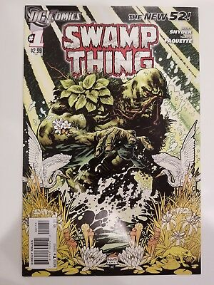 Swamp Thing # 1 New 52 1st Print (DC)