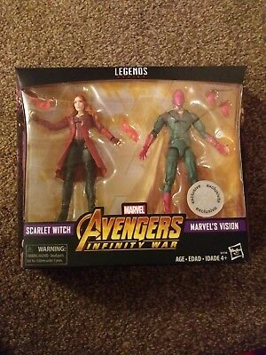 Marvel Legends Avengers Infinity War Scarlet Witch & Vision toysrus exclusive