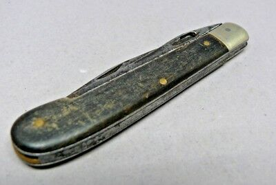 1940's  Model 2/3 Victorinox Swiss Army Farmer Knife with horn Scales