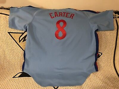 064a6867 Gary Carter Montreal Expos Authentic Mitchel & Ness Throwback Jersey Size  5XL