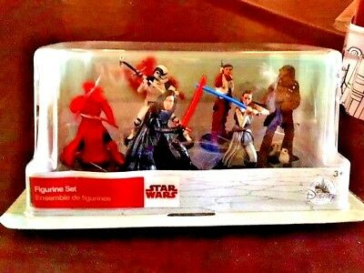 Disney Star Wars The Last Jedi 6 Piece Figures Perfect Cake Toppers
