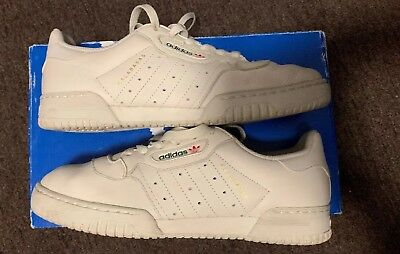 bb935c9d3 ADIDAS YEEZY POWERPHASE Calabasas Cream White Mens Size 7 Used ...