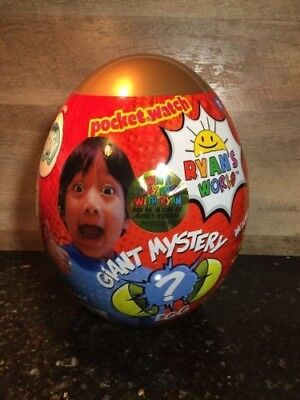 LAST STOCK!!!Ryan's World Giant GOLD Mystery Egg Toy Limited Rare Surprise Toys