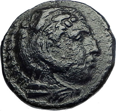 ALEXANDER III the Great 336BC  Ancient Greek Coin Hercules Bow Club  i74201