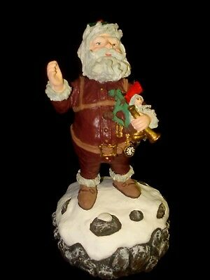 "Duncan Royale ""Musical Nast"" Christmas Santa Claus 1990 1st Event Edition #2390"