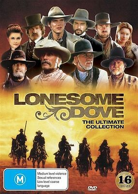 Lonesome Dove (DVD, 2016, 16-Disc Set) The Ultimate Collection