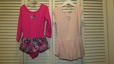 2 Skirted Leotards Size Small