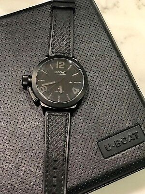 Owned No2277 U Classico Cab 53mm Black Boat Pvd Case Pre 4 Style O80nwPkX