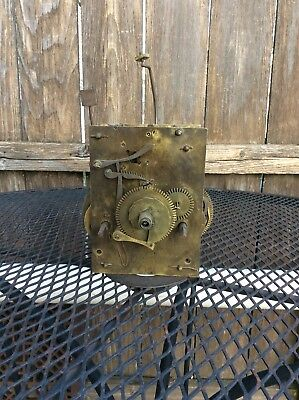 Antique 8 day  Weight Driven  Tall Case Clock  Movement, Parts / Repairs