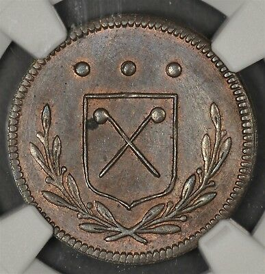 1807 Ngc Ms63Bn German States Frankfurt Theler Km-Tn1 Germany