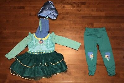 Shimmer and Shine Toddler Girl Costume Dress Up Set Outfit New 4T