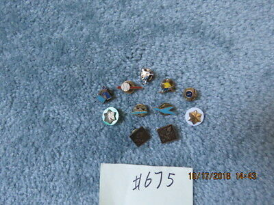 Cub Scouts Activity Rank And Attendance Pins Lot