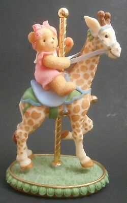 Cherished Teddies Flossie I'd Stick My Neck Out For You EUC 589950 Carousel