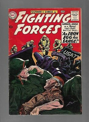 Fighting Forces #54 - An Iron Egg For Sarge! - (7.0) 1954