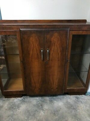 Antique sideboard cabinet