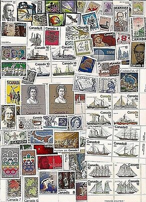 vintage MNH MINT UNUSED FULL GUM CANADA Canadian postage stamps lot C29W