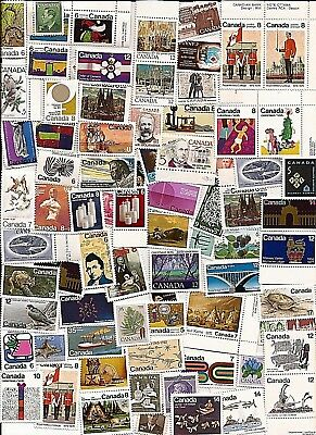 vintage MNH MINT UNUSED FULL GUM CANADA Canadian postage stamps lot C30W