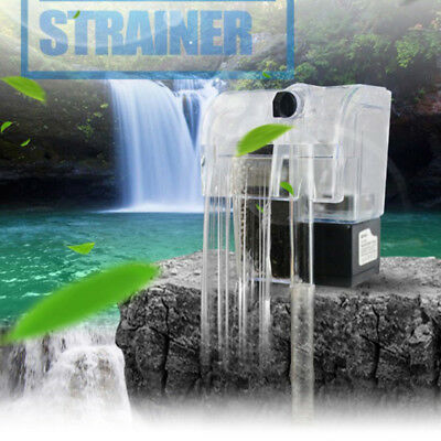 Waterfall Hang On External Oxygen Pump Filter For Aquarium Fish Tank EU XFR