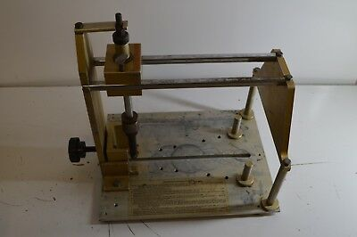 Used End Plate Cutter