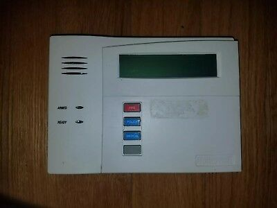Used Ademco/Honeywell ADT 6160 Alpha Keypad
