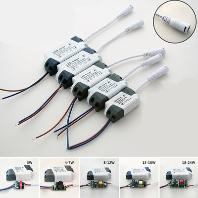 For LED Lights AC90~265V 3~24W LED Driver Power Supply Adapter Transformer