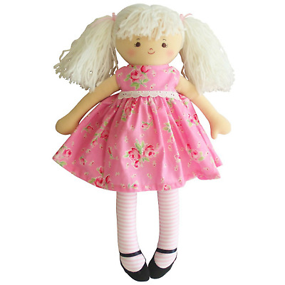 ALIMROSE GEORGIE DOLL PINK ROSE - 46cm