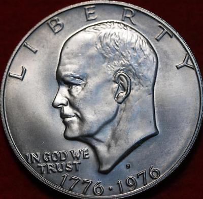 Uncirculated 1976-S San Francisco Mint 40% Silver Eisenhower Dollar