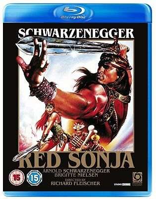 Red Sonja (Blu-ray, 1985, Arnold Schwarzenegger) *BRAND NEW/SEALED*