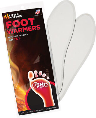 Little Hotties Foot Warmers M/L 20 Pack 7206