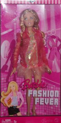 Barbie Fashion Fever Summer with Pink Sheer Fairy Tales Style Dress