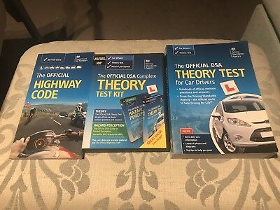 Official DSA Theory Test Book And CD And Highway Code Book