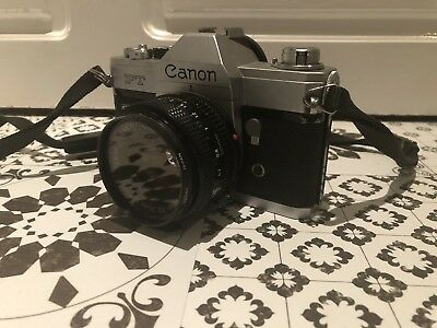 Vintage Canon FT QL 35MM SLR Film Camera - 50MM Lens