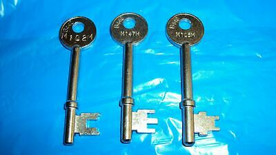MM Union Keys to code M101M - M200M (MORTICE key) FOR MORTICE LOCKS