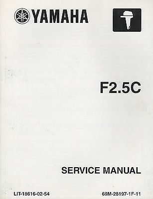 Yamaha outboard 50HP /& 60HP Service Manual F50F FT50G F60C,FT 2004 Onwards,