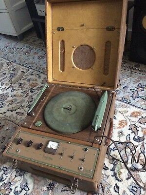 Ancient 1930's Speak O Phone Phonograph for Bar Window or Antique Collectors
