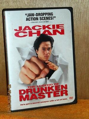 The Legend of Drunken Master (DVD, 2001) Jackie Chan Ho-Sung Pak Lung Ti