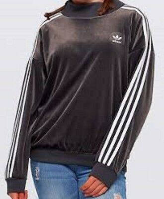 New Adidas Originals Girls Children Sweatshirt Track Top  Sweat Trefoil