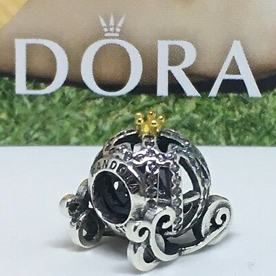 Sterling Silver Charm CARROZA CENICIENTA ALE S925 Genuine Pandora bag