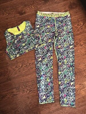 Marks & Spencer  Crop Top & Full Length Leggings Set Age 13-14 Years Bnwot