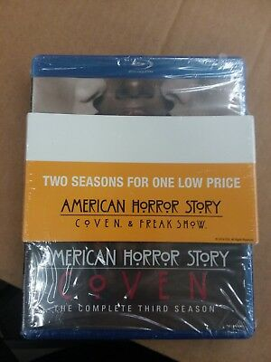 American Horror Story Complete Season 3 & 4 Blu-ray Brand New Factory Sealed