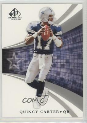 DALLAS COWBOYS QUINCY Carter Rookie Game Jersey w Game Used Practice ... c48fba399