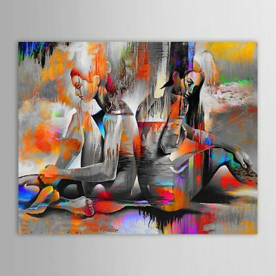 ZOPT182 abstract fancy wall art 100% hand painted art OIL PAINTING ON CANVAS