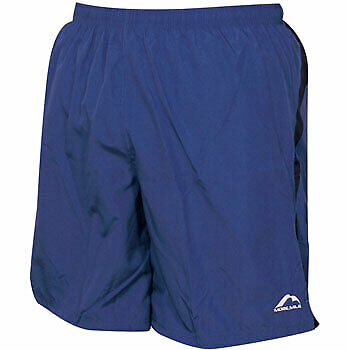 More Mile Mens Sports Shorts Running Gym Fitness Football Exercise Blue