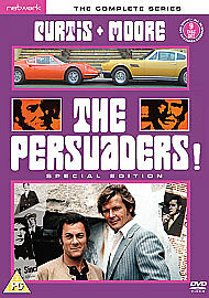 The Persuaders! - The Complete Series (DVD, 2008, 9-Disc Set)