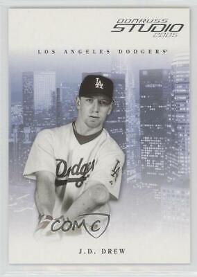 a379a5b6e5cf 2005 Donruss Studio  155 JD Drew Los Angeles Dodgers J.D. Baseball Card