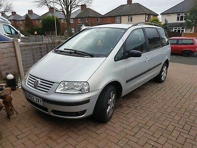 VW sharan 19 TDI,tow bar,leather,moted,good runner,5 speed auto box
